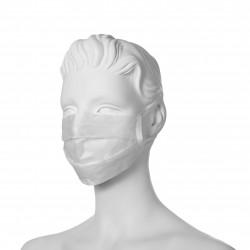 Maska higieniczna z papieru - jednowarstwowa