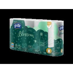 Papier toaletowy GRITE BLOSSOM, 3-warstwowy - 8 rolek