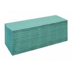 Ręcznik składany typu ZZ - zielony