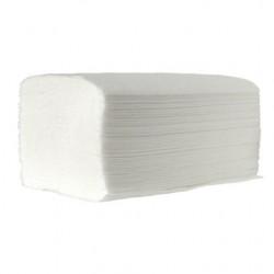 Ręcznik składany typu ZZ - Biały PREMIUM