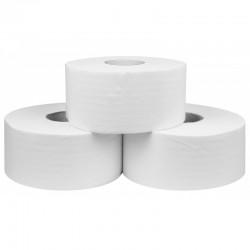 Papier toaletowy Jumbo 2-warstwowy, celuloza klejona - 12 rolek