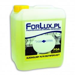 Alkoholowy płyn do szybkiej dezynfekcji - FORLUX PDA