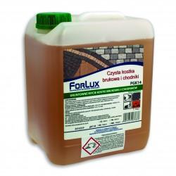 Preparat do gruntownego mycia kostki brukowej i chodników - FORLUX PGK 14